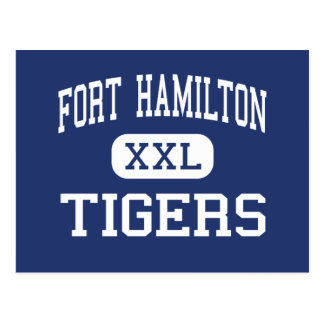 Fort Hamilton - Tigers - High - Brooklyn New York Postcard