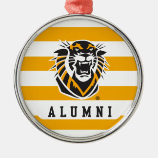Fort Hays State   Alumni Metal Ornament