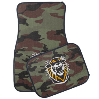 Fort Hays State | Camo Car Mat