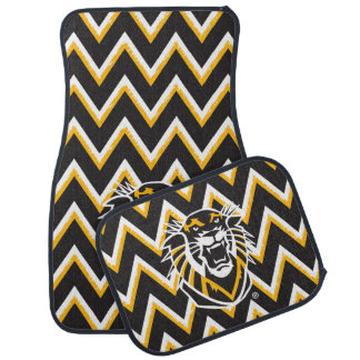 Fort Hays State | Chevron Pattern Car Mat