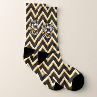 Fort Hays State | Chevron Pattern Socks