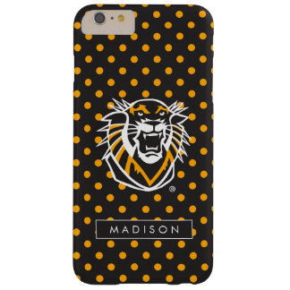 Fort Hays State | Polka Dot Pattern Barely There iPhone 6 Plus Case