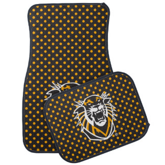 Fort Hays State | Polka Dot Pattern Car Mat