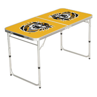 Fort Hays State Primary Mark Beer Pong Table