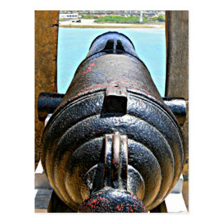 Fort Jesus, Mombasa, Kenya canon Postcard