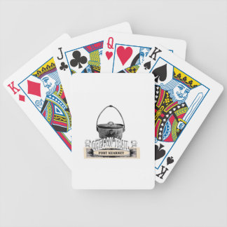fort kearney cooking bicycle playing cards