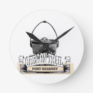 fort kearney cooking round clock
