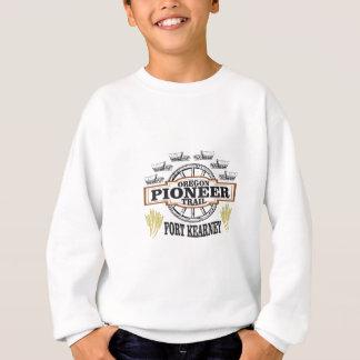 fort kearney logo art sweatshirt