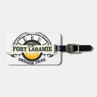 fort laramie art history luggage tag