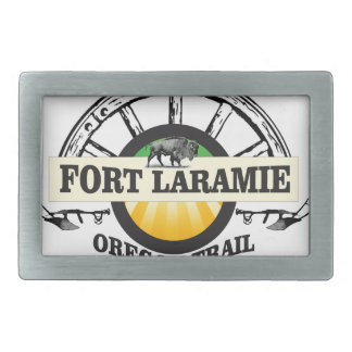 fort laramie art history rectangular belt buckles