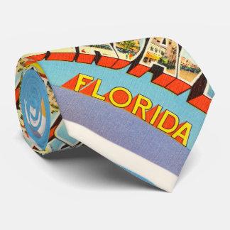 Fort Lauderdale #2 Florida FL Old Travel Souvenir Tie