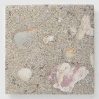 Fort Lauderdale Beach Sand, Shells Stone Coaster