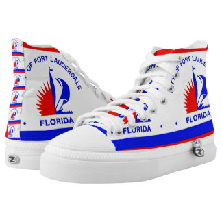 FORT LAUDERDALE, FL - .png Printed Shoes