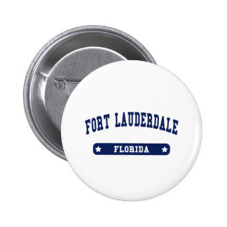 Fort Lauderdale Florida College Style tee shirts 6 Cm Round Badge