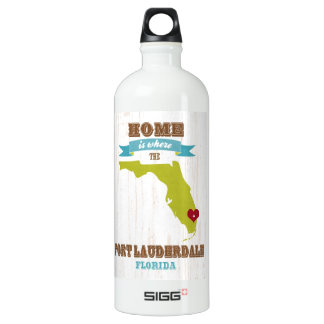 Fort Lauderdale, Florida Map – Home Is Where SIGG Traveller 1.0L Water Bottle