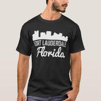 Fort Lauderdale Florida Skyline T-Shirt