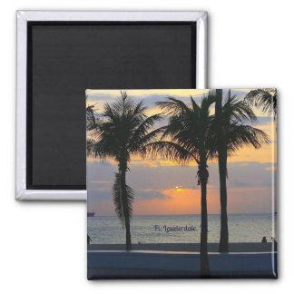 Fort Lauderdale Sunrise Magnet