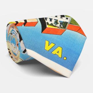 Fort Lee Virginia VA Old Vintage Travel Postcard- Tie