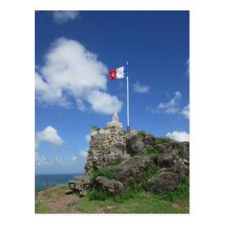 """Fort Louis Flag """"St. Maarten"""" Postcard"""
