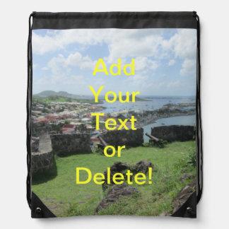 """Fort Louis Rampart Walls """"St. Maarten"""" Backpack"""