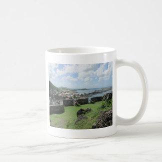 "Fort Louis Rampart Walls ""St. Maarten"" Coffee Mug"