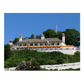 Fort Mackinac post card