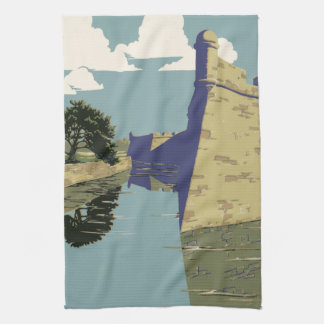Fort Marion National Monument St Augustine Florida Towels