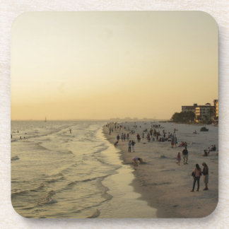 Fort Myers Beach Beverage Coasters