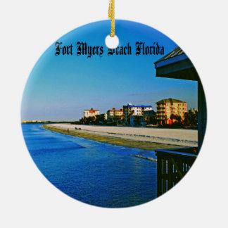 Fort Myers Beach Christmas Ornaments