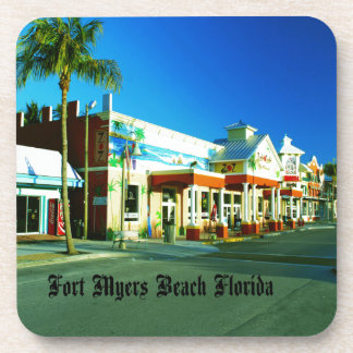 Fort Myers Beach Drink Coasters