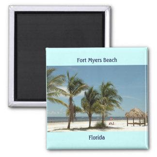 Fort Myers Beach Florida Fridge Magnet