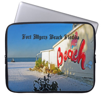 Fort Myers Beach Laptop Sleeves