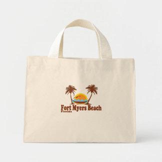 Fort Myers Beach. Mini Tote Bag