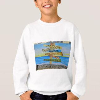 Fort Myers Beach Mural Sweatshirt