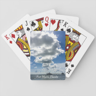 Fort Myers Beach Pier Playing Cards