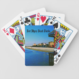 Fort Myers Beach Bicycle Poker Cards