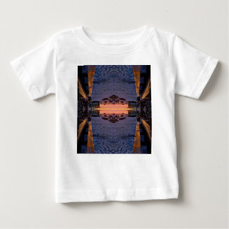 Fort Myers Beach Psychedelic Baby T-Shirt