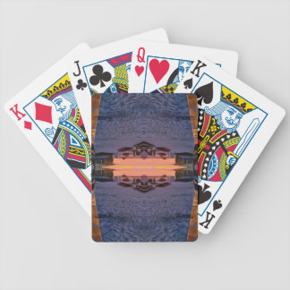 Fort Myers Beach Psychedelic Poker Deck