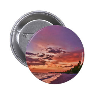 Fort Myers Beach Sunset Buttons