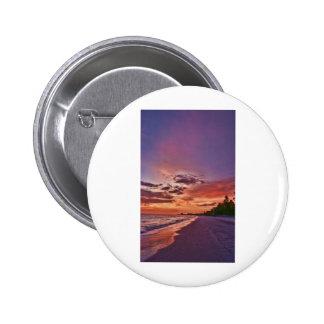 Fort Myers Beach Sunset Button