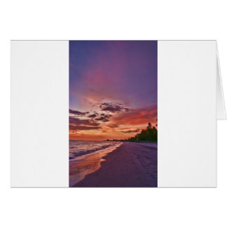 Fort Myers Beach Sunset Cards