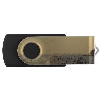 Fort Myers Beach Swivel USB 2.0 Flash Drive