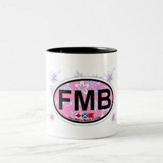 Fort Myers Beach. Two-Tone Mug