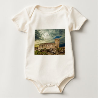 Fort on the hill baby bodysuit