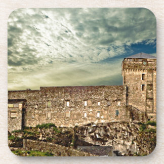 Fort on the hill beverage coasters