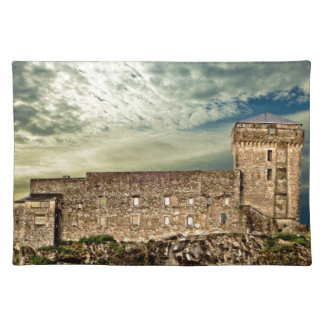 Fort on the hill placemat