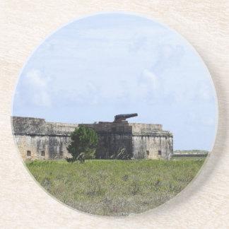 Fort Pickens Sandstone Coaster