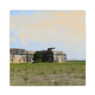 Fort Pickens Wood Coaster