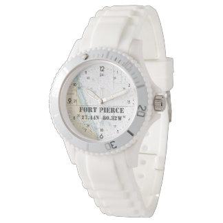 Fort Pierce FL Latitude Longitude Nautical Chart Watch