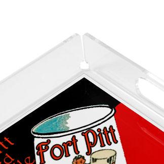 Fort Pitt Beer Acrylic Tray
